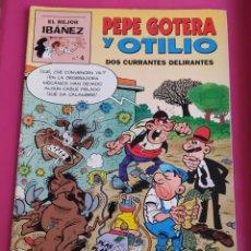 Cómics: EL MEJOR IBAÑEZ Nº 4- PEPE GOTERA Y OTILIO DOS CURRANTES DELIRANTES. 32 PAGS. Lote 234831335