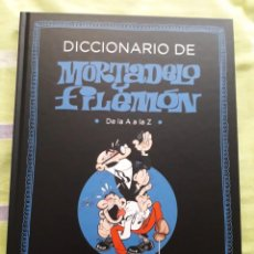 """Cómics: TOMO """"DICCIONARIO MORTADELO Y FILEMÓN"""" DE PENGUIN RANDOM HOUSE BRUGUERA CLÁSICA. Lote 234847300"""