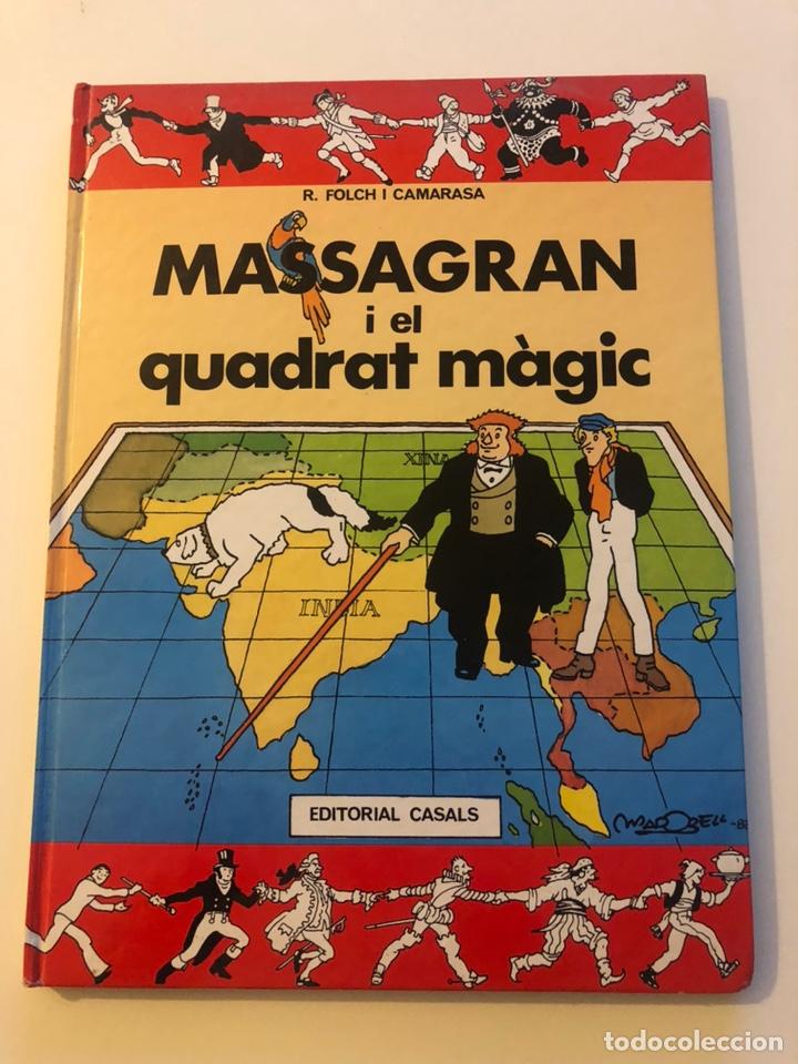 MASSAGRAN I EL CUADRAT MAGIC R FOLCH I CAMARASSA MADORELL ES CASALS 1983 (Tebeos y Comics Pendientes de Clasificar)
