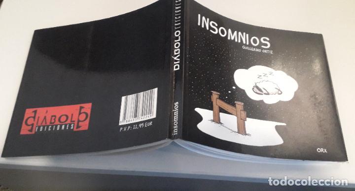 Cómics: COMIC DIABOLO insomnios guillermo ortiz - Foto 3 - 234922105