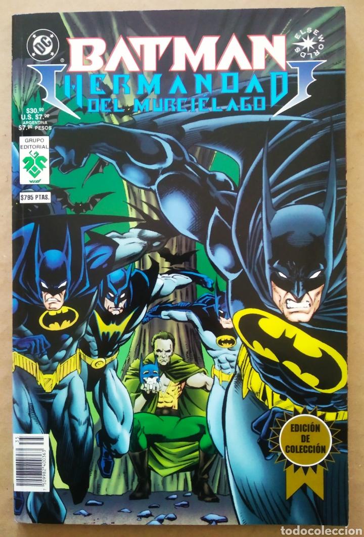 Cómics: Batman: Hermandad del Murciélago/Batman: Galería Nocturna (Grupo Editorial Vid, 1997). Elseworlds. - Foto 2 - 234922500