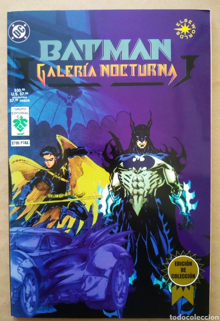 BATMAN: HERMANDAD DEL MURCIÉLAGO/BATMAN: GALERÍA NOCTURNA (GRUPO EDITORIAL VID, 1997). ELSEWORLDS. (Tebeos y Comics Pendientes de Clasificar)