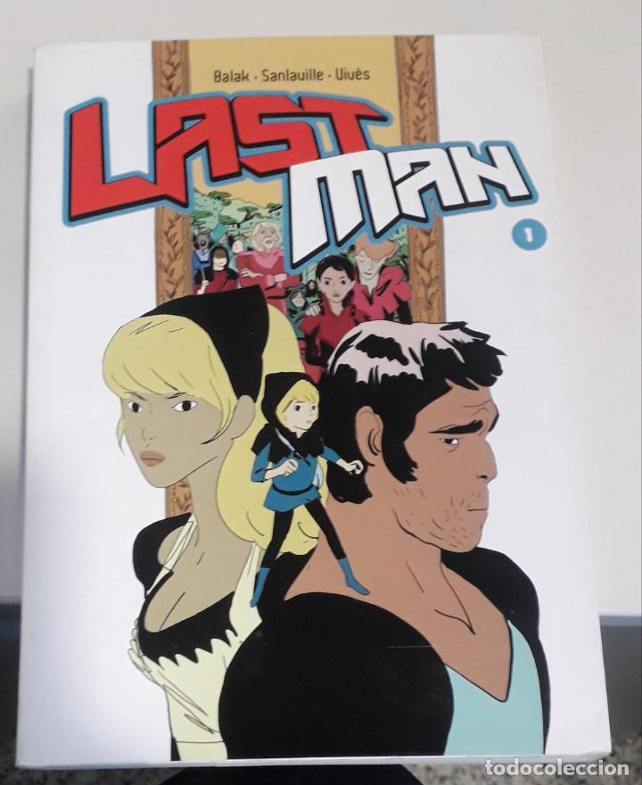 COMIC DIABOLO LAST MAN 1 EN FRANCES (Tebeos y Comics - Comics otras Editoriales Actuales)