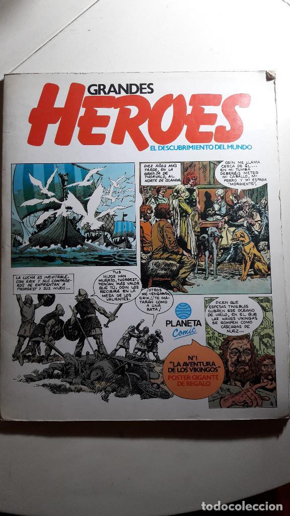 CÓMIC GRANDES HÉROES, Nº1 (Tebeos y Comics Pendientes de Clasificar)