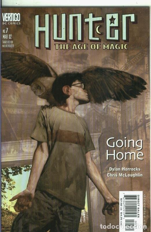 HUNTER THE AGE OF MAGIC NUMERO 07 (Tebeos y Comics Pendientes de Clasificar)