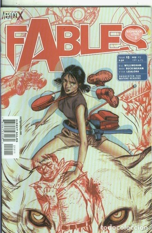 FABLES NUMERO 15 (Tebeos y Comics Pendientes de Clasificar)