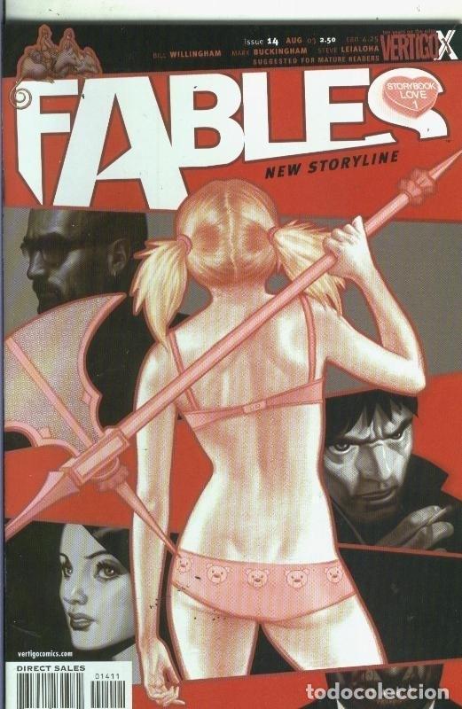 FABLES NUMERO 14 (Tebeos y Comics Pendientes de Clasificar)