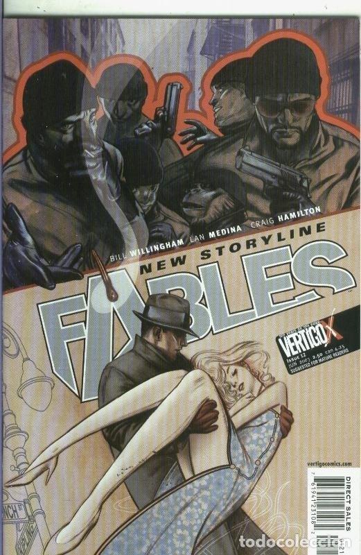 FABLES NUMERO 12 (Tebeos y Comics Pendientes de Clasificar)