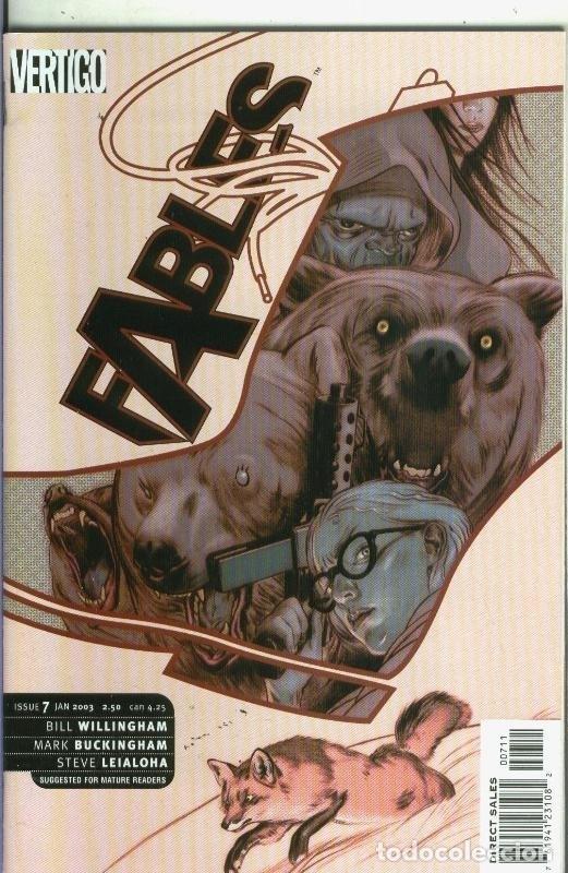 FABLES NUMERO 07 (Tebeos y Comics Pendientes de Clasificar)