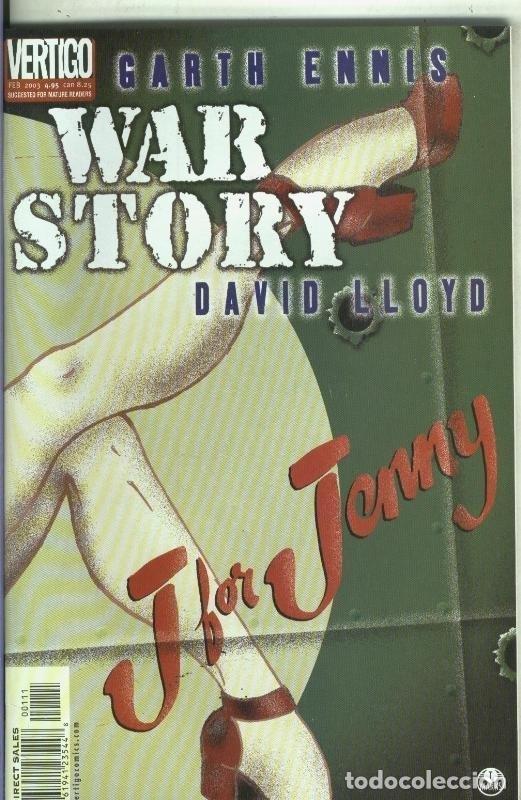 WAR STORY: J FOR JENNY (Tebeos y Comics Pendientes de Clasificar)