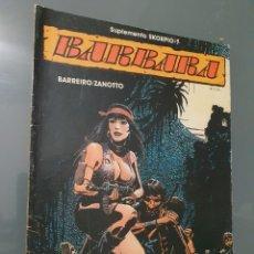 Cómics: BARBARA TOMO 1. Lote 234997900