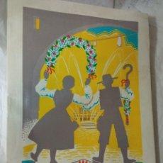 Comics : FERIA Y FIESTAS DE SANT PASCUAL VILLARREAL 1968. Lote 235123450