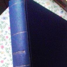 Cómics: LOTE 7 REVISTAS FANTOM, VAMPUS Y RUFUS 1972 1973 ENCUADERNADAS PAPEL TELA AZUL TÍTULO DORADO FANTOM. Lote 235154345