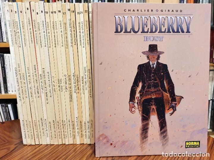 EL TENIENTE BLUEBERRY. LOTE CON LOS 29 TOMOS DIBUJADOS POR JEAN GIRAUD (MOEBIUS) COMPLETA (Tebeos y Comics - Comics Colecciones y Lotes Avanzados)