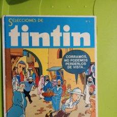 Cómics: TINTIN SELECCIONES COLECCIONISTAS Nº 1 FALTA UN COMIC EN EL INTERIOR LEER DETENIDAMENTE. Lote 235265875