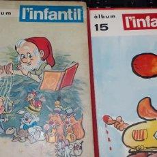 Cómics: L'INFANTIL Nº 1 A 172/173 - COLECCIO COMPLETA EN 15 VOLUMS RETAPATS EDITORIAL - FASCICLES IMPECABLES. Lote 235277960
