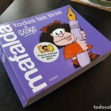 Cómics: TEBEO / CÓMIC MAFALDA QUINO NUEVO TODAS LAS TIRAS PREMIOS PRÍNCIPE DE ASTURIAS 2014. Lote 235330250