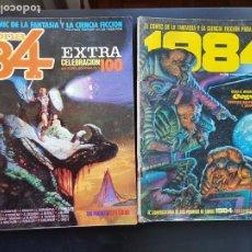 Cómics: LOTE 2 TEBEOS / CÓMIC ZONA 84 N⁰ 36 Y 1984 N 49 CIENCIA FICCIÓN. Lote 235340875