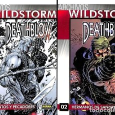 Cómics: ARCHIVOS WILDSTORM DEATHBLOW PACK 1 - 2. Lote 235358305