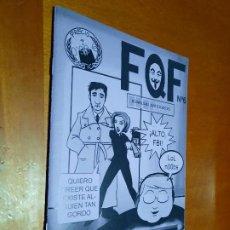 Cómics: FRIKIQUEFRIKI 6. EL FAZINE DE FQF. GRAPA. BUEN ESTADO. AUTOEDITADO. DIFICIL. Lote 235372075