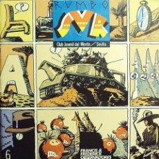 Cómics: RUMBO SUR - NÚMERO SEIS - PALACIOS, CALATAYUD, JAN, MAX, BERMEJO, ETC.. Lote 235412165