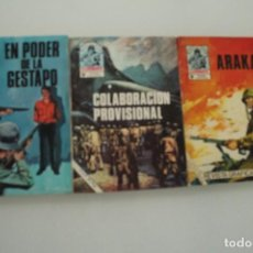 Cómics: 3 CÓMIC COMBATE PRODUCCIONES EDITORIALES. Lote 235444990