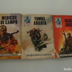 Cómics: 3 CÓMIC COMBATE PRODUCCIONES EDITORIALES. Lote 235447240