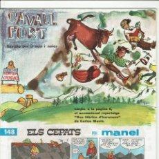 Cómics: CAVALL FORT. Nº 148. 8 PESSETES.. Lote 235511610