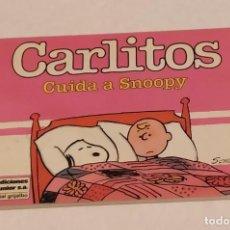 Cómics: CARLITOS CUIDA A SNOOPY - EDICIONES JUNIOR (GRIJALBO) AÑO 1985. Lote 235587710