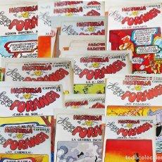 Comics : LOTE HISTORIA FORGESPORANEA,FASCÍCULOS 15,16,17,18,19,20,21,22,23,25,26,27,29, ZINCO-PROMOCOMIC 1983. Lote 235689500