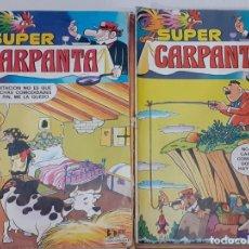 Cómics: SUPER CARPANTA - LOTE AVANZADO DE 20 NUMEROS (DE 56) - BRUGUERA 1977-1981 - A BUEN PRECIO. Lote 235951825