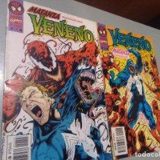 Cómics: VENENO-MATANZA DESENCADENADO 2-3. Lote 236173335