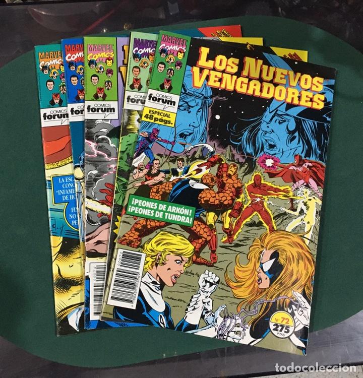 COMICS MARVEL LOS NUEVOS VENGADORES (Tebeos y Comics - Comics Pequeños Lotes de Conjunto)