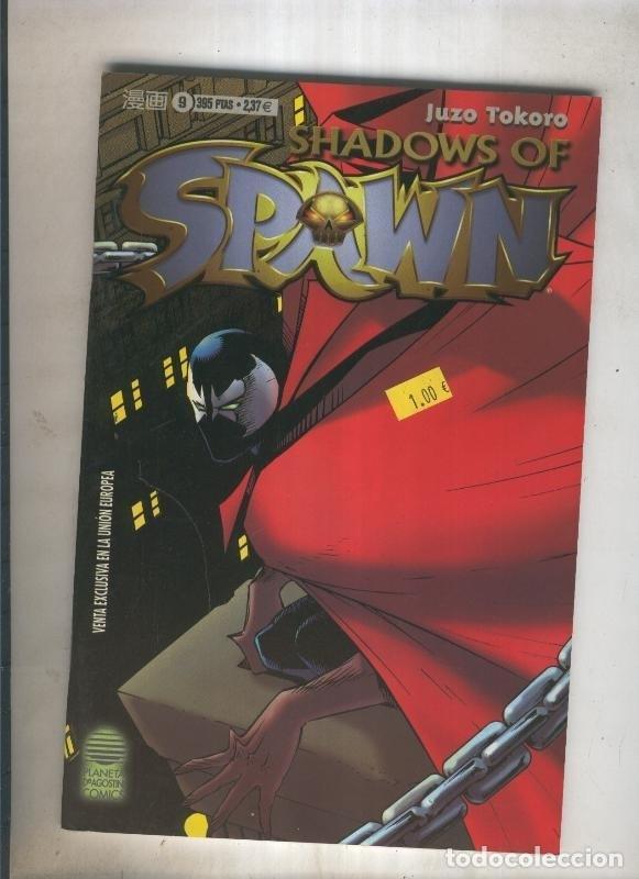 SHADOWS OF SPAWN: NUMERO 9 (Tebeos y Comics Pendientes de Clasificar)