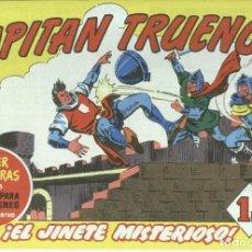 Cómics: EL CAPITAN TRUENO FACSIMIL NUMERO 234: EL JINETE MISTERIOSO (NUMERADO 1 EN TRASERA). Lote 236473360