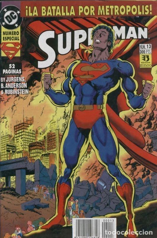 SUPERMAN 3A SERIE NUMERO 13 (Tebeos y Comics Pendientes de Clasificar)