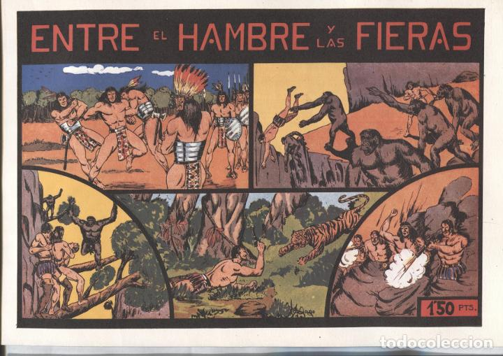 FACSIMIL: NIÑO GONZALO: ENTRE EL HAMBRE Y LAS FIERAS (Tebeos y Comics Pendientes de Clasificar)