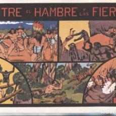 Cómics: FACSIMIL: NIÑO GONZALO: ENTRE EL HAMBRE Y LAS FIERAS. Lote 236474535