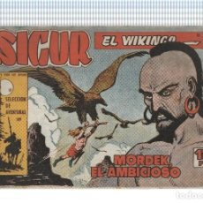 Cómics: FACSIMIL: SIGUR EL VIKINGO DE JOSE ORTIZ NUMERO 10: MORDEK EL AMBICIOSO. Lote 236474550