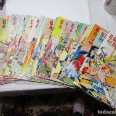 Cómics: EL GUERRERO DEL ANTIFAZ PUBLICACIÓN JUVENIL (33 NÚMEROS) W5239. Lote 236507095