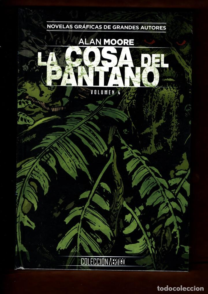 LA COSA DEL PANTANO DE ALAN MOORE 4 - ECC / DC / COLECCION VERTIGO 54 / NUEVO Y PRECINTADO (Tebeos y Comics - Comics otras Editoriales Actuales)
