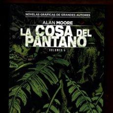 Cómics: LA COSA DEL PANTANO DE ALAN MOORE 4 - ECC / DC / COLECCION VERTIGO 54 / NUEVO Y PRECINTADO. Lote 236530765