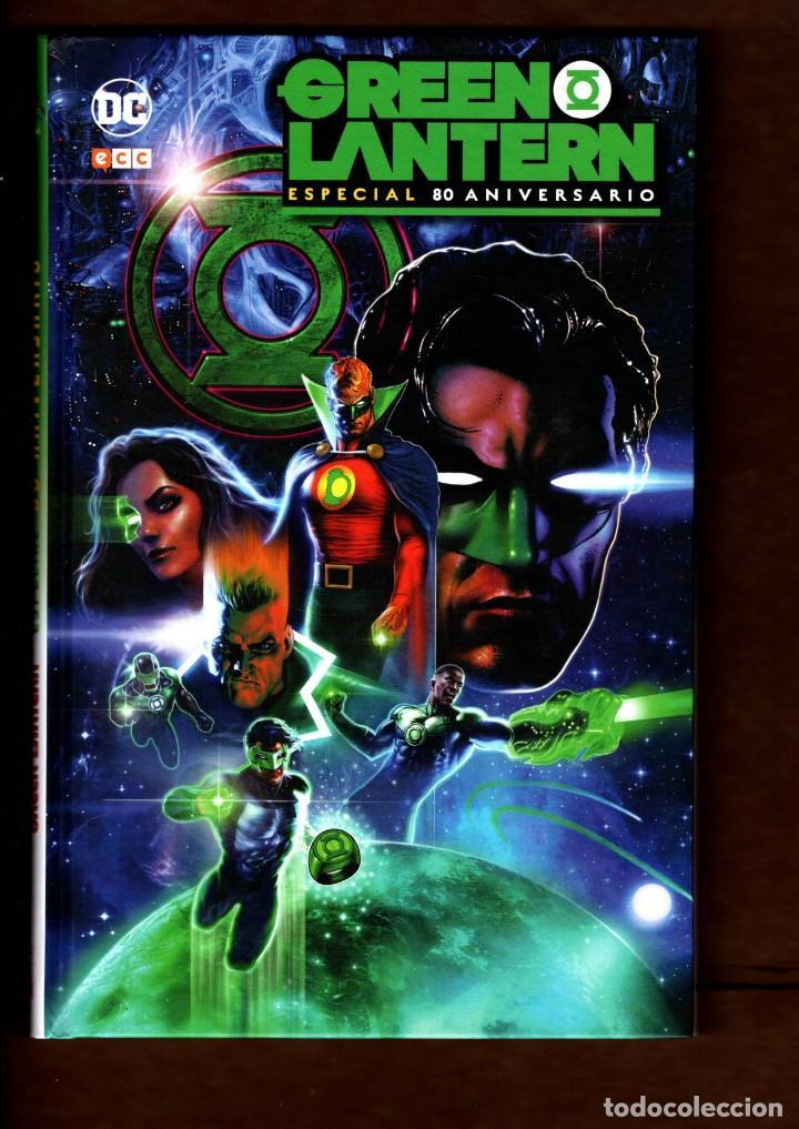 GREEN LANTERN ESPECIAL 80 ANIVERSARIO - ECC / DC / TAPA DURA / NUEVO DE EDITORIAL (Tebeos y Comics - Comics otras Editoriales Actuales)