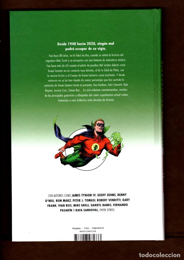 Cómics: GREEN LANTERN ESPECIAL 80 ANIVERSARIO - ECC / DC / TAPA DURA / NUEVO DE EDITORIAL - Foto 2 - 236531295