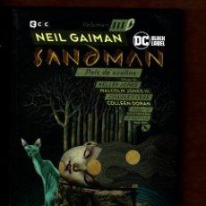 Cómics: BIBLIOTECA SANDMAN 3 : PAÍS DE SUEÑOS - ECC / DC BLACK LABEL / TAPA DURA / NUEVO DE EDITORIAL. Lote 236531750