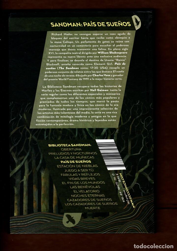 Cómics: BIBLIOTECA SANDMAN 3 : PAÍS DE SUEÑOS - ECC / DC BLACK LABEL / TAPA DURA / NUEVO DE EDITORIAL - Foto 2 - 236531750