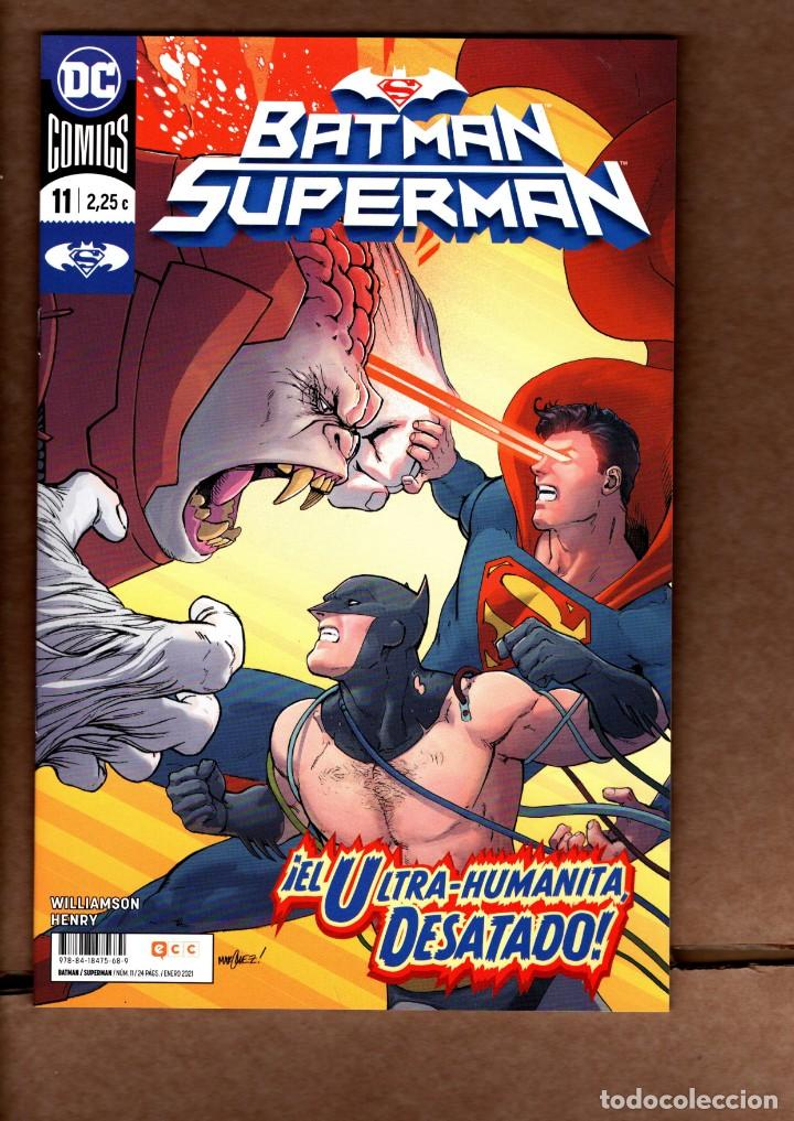 BATMAN SUPERMAN 11 - ECC / DC / GRAPA / NUEVO DE EDITORIAL (Tebeos y Comics - Comics otras Editoriales Actuales)