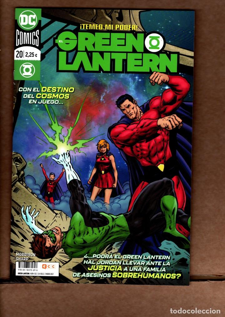 EL GREEN LANTERN 20 (102) - ECC / DC / GRAPA / NUEVO DE EDITORIAL (Tebeos y Comics - Comics otras Editoriales Actuales)