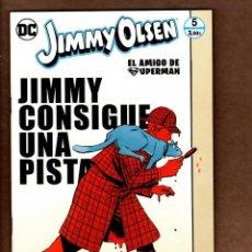 Cómics: JIMMY OLSEN EL AMIGO DE SUPERMAN 5 - ECC / DC / GRAPA / NUEVO DE EDITORIAL. Lote 236533045