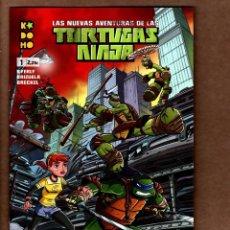Cómics: LAS NUEVAS AVENTURAS DE LAS TORTUGAS NINJA 1 - ECC / KODOMO / GRAPA / NUEVO DE EDITORIAL. Lote 236533360